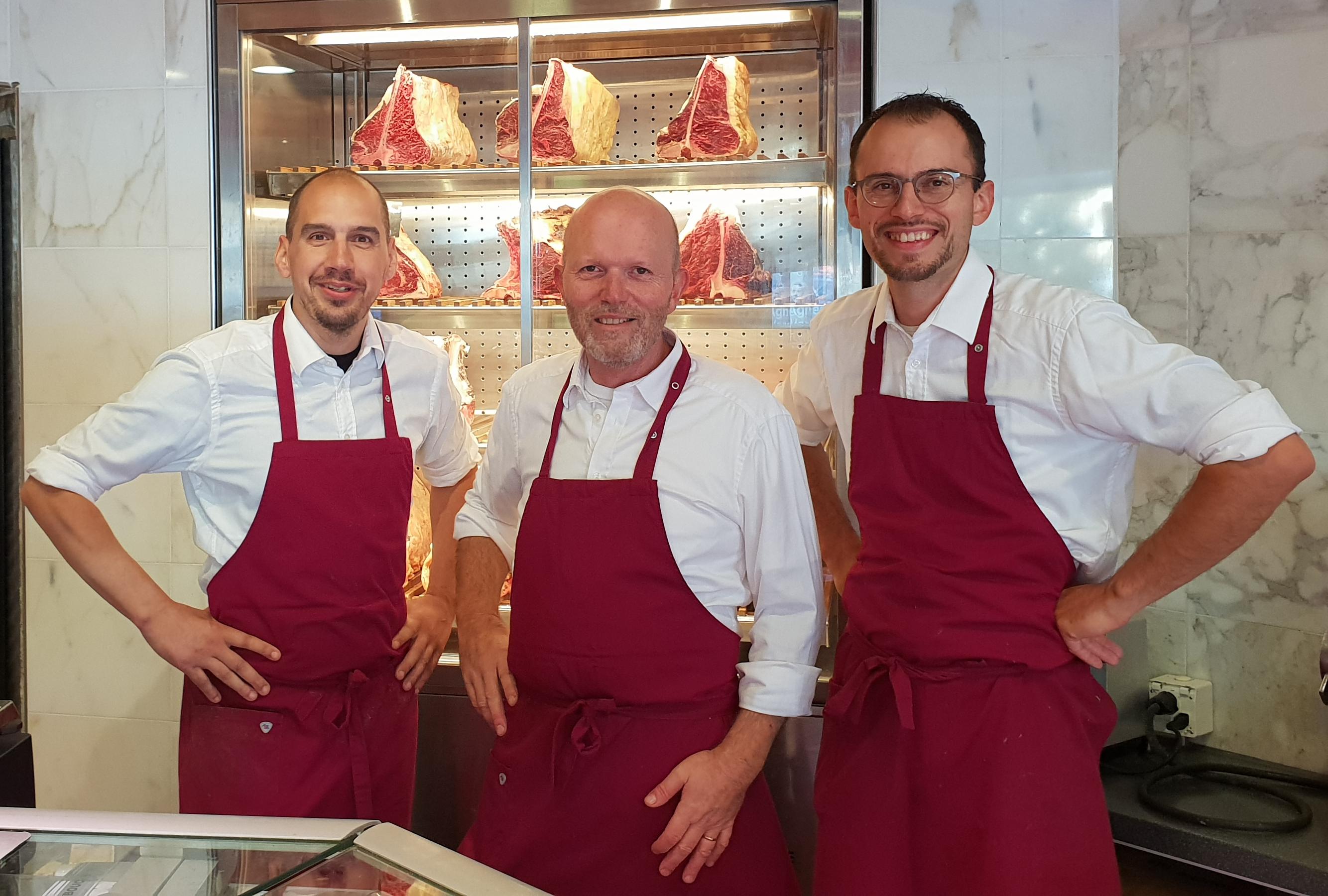 Michel, Sébastien & Manu